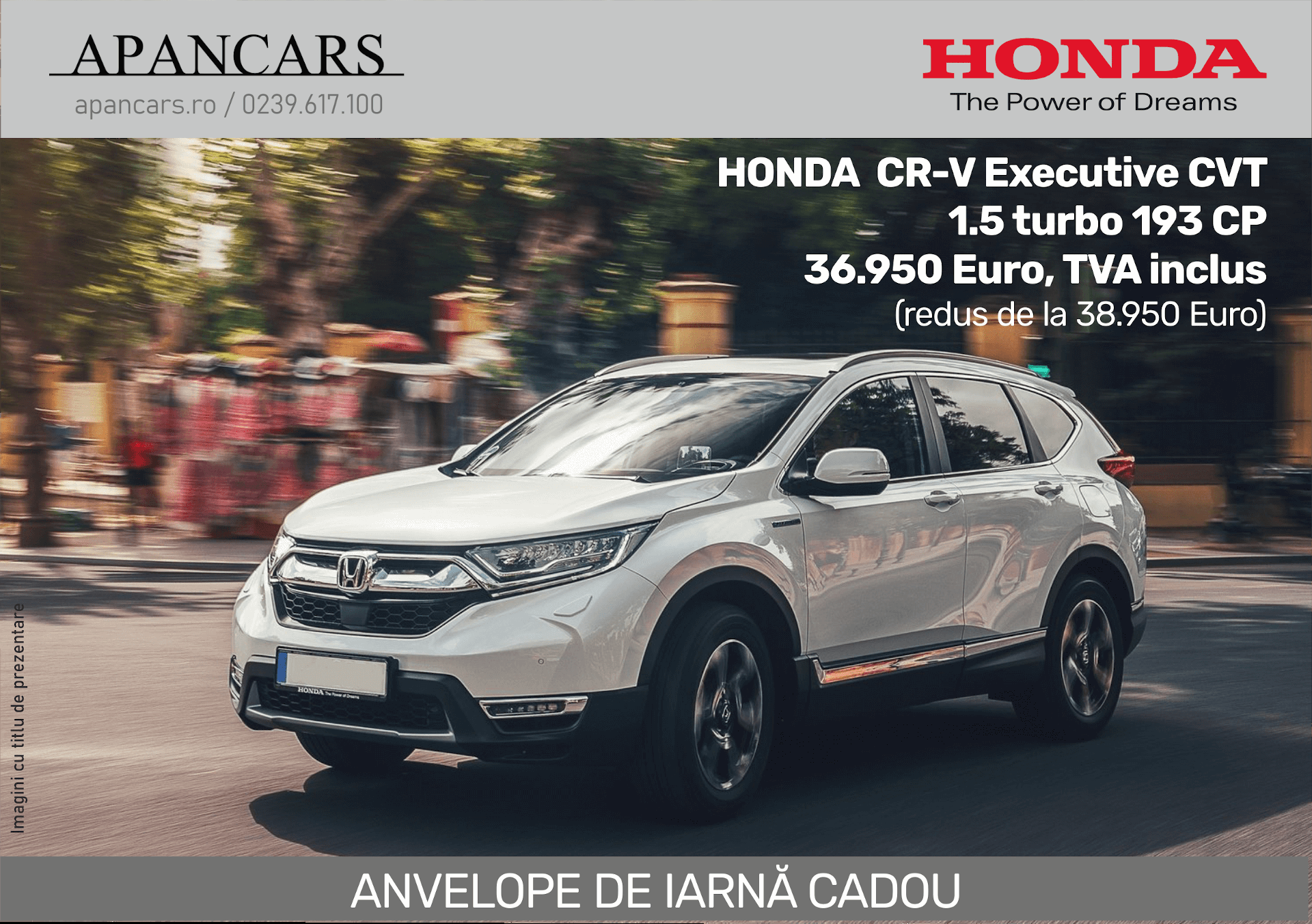 Honda CR-V Executive - Reducere